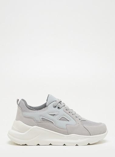 F By Fabrika Kadın Pudra Sneakers ARLENE Gri
